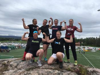 Gjengen fra Møre og Romsdal er klare for Høstsprell! Foto: Silje Brubæk