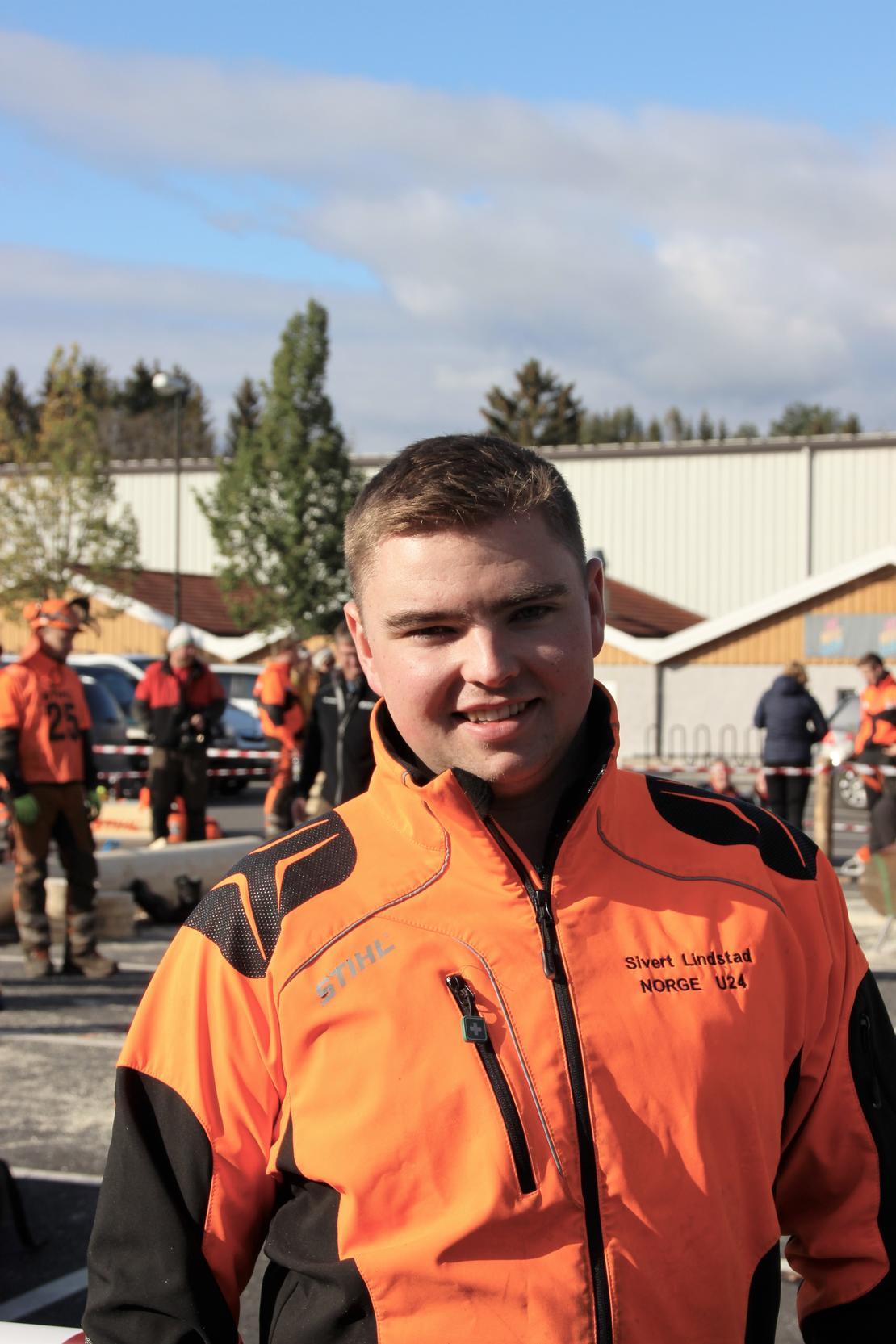 Sivert Lindstad på Høstarrangementet 2019. Foto: Emma Gerritsen