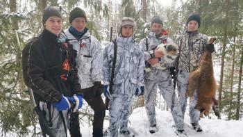 Tage Nyrønning, Max Bolte, Sondre Rønning, Torbjørn Sandli og Gard Thorshaug. Foto: Privat.