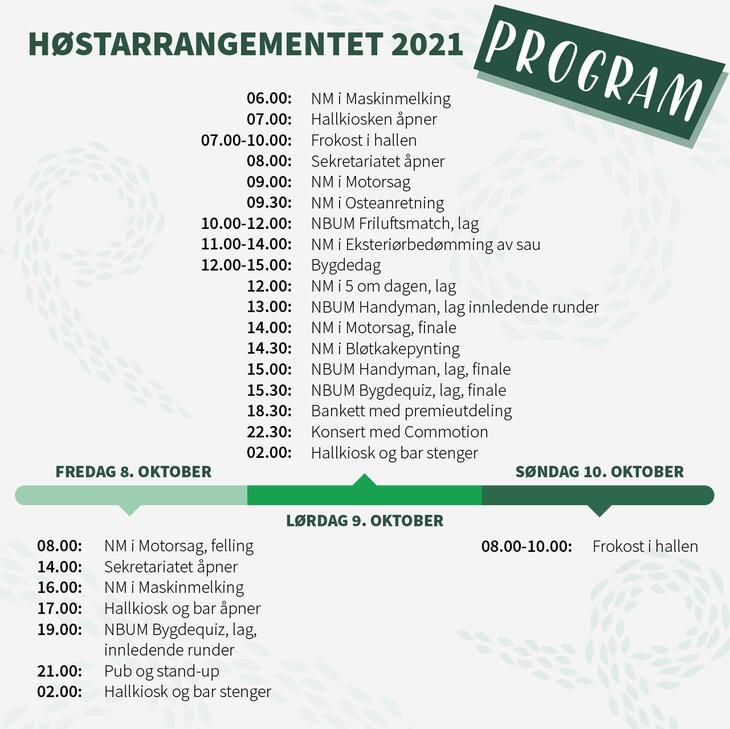 Program HA 2021