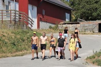 Vi gleder oss til Landsstevnet! Sommerens vakreste eventyr. Foto: Emma Gerritsen