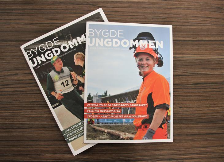 Er du medlem? Da får du Bygdeungdommen i posten! Foto: Norges Bygdeungdomslag