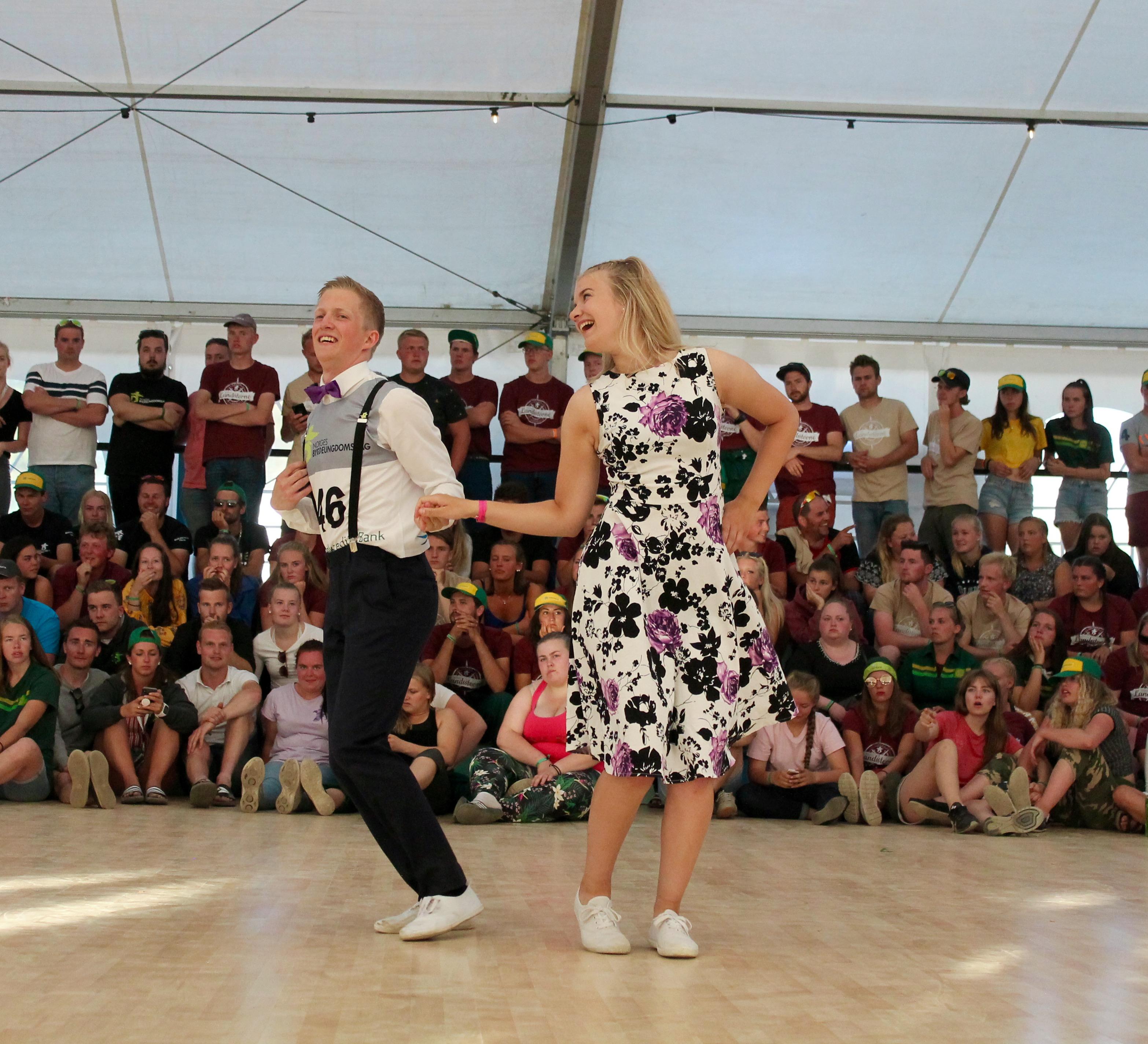 Madelen og Eilif vant NM i juniorklassen på Landsstevnet 2018. Foto: Landsstevnet 2018