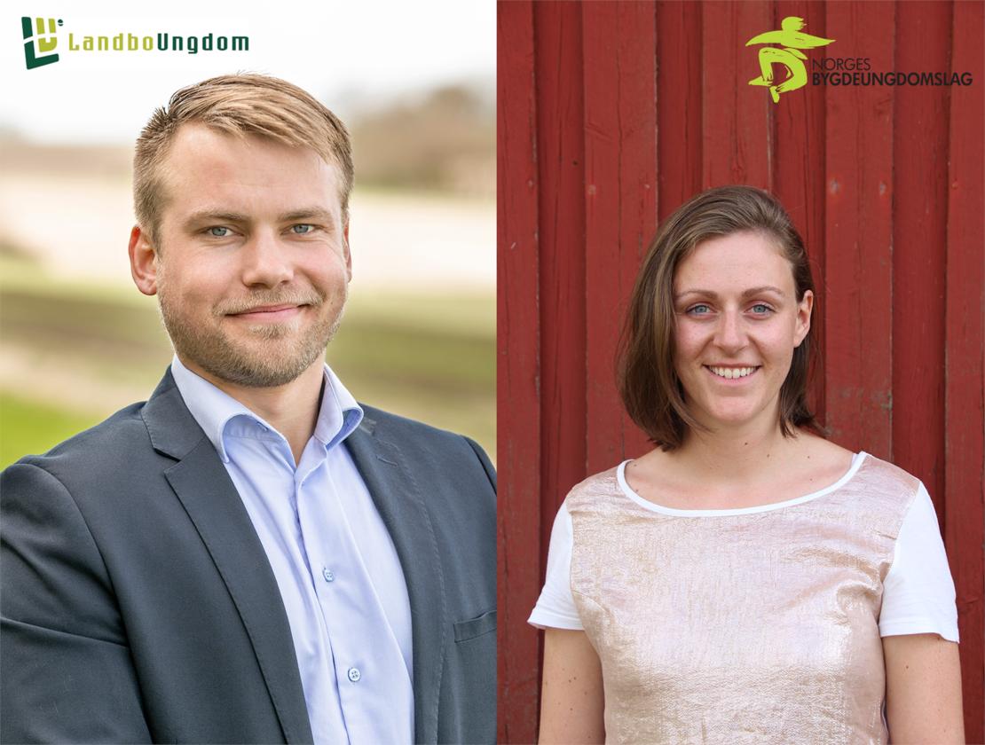 Vår søsterorganisasjon i Danmark er Landboungdom. Styrelederne Thorbjørn fra Danmark og Tora fra Norge er spurt om å svare på de samme spørsmålene.
