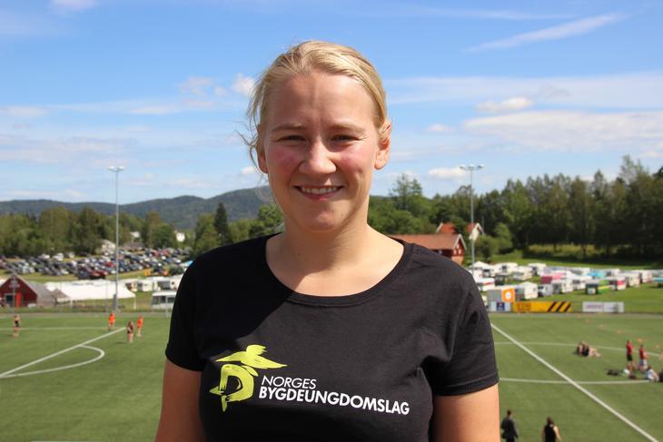 Inger Johanne Brandsrud har vært styreleder i ett år. Hun vil gjerne fortsette og stiller til gjenvalg. Foto: Emma Gerritsen